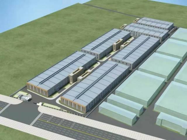 单层钢结构50年产权全新标准厂房