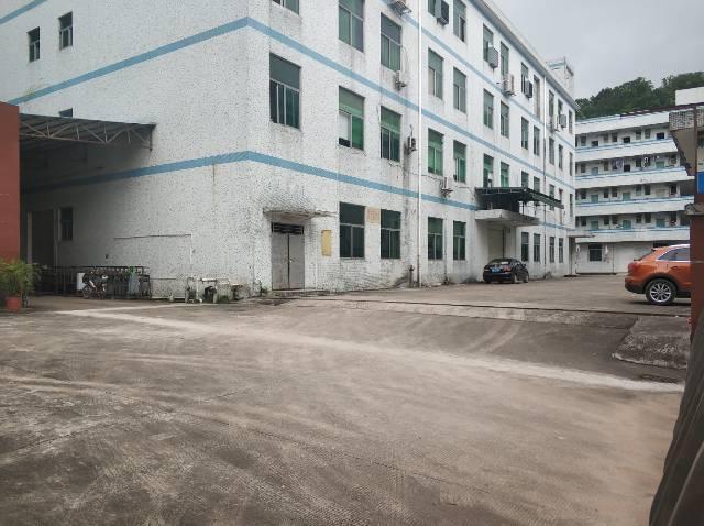 盐田独院7500多平米厂房4层宿舍4层整租20可分租合同6年