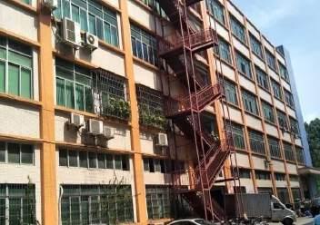 深圳公明东坑新出楼上厂房带办公室有装修,3吨货梯图片4