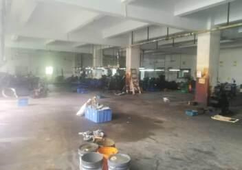 深圳公明东坑新出楼上厂房带办公室有装修,3吨货梯图片3