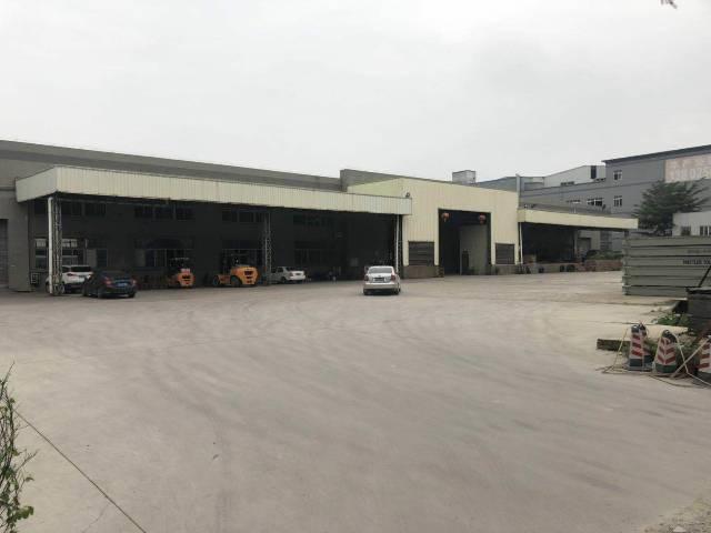 洪梅镇独院单一层钢构厂房113500平方