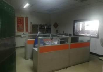 深圳公明东坑新出楼上厂房带办公室有装修,3吨货梯图片5