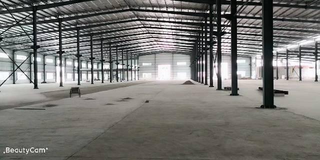 茶山镇东部快线旁原房东 单一层滴水高度8米 厂房:6000平