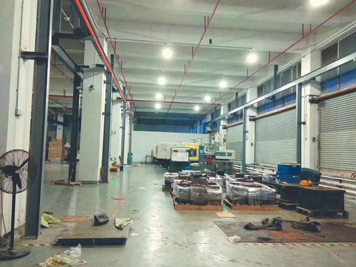 虎门沿江高速路口新出一楼2480平方带行车厂房招租,阁楼办公