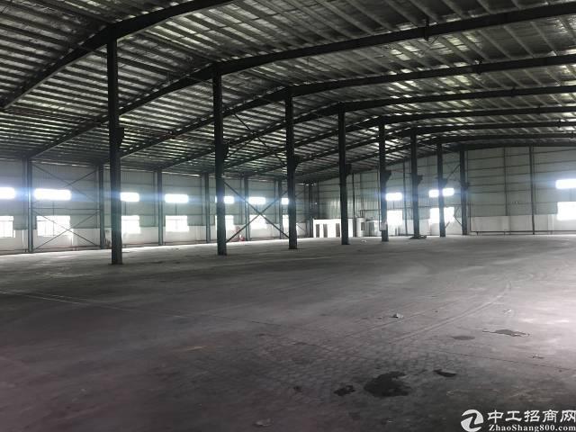厚街镇三屯村新出7000平米单一层独院钢构厂房出租