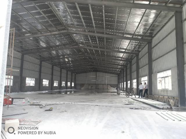 樟木头裕丰管理区新出钢构厂房1200平方,滴水8米