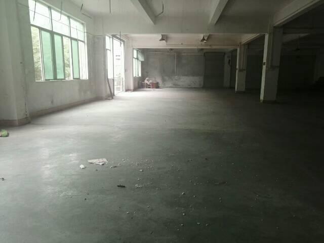 惠阳新圩高速路口附近花园式厂房二楼650平方,水电到位