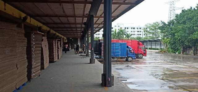 平湖专业物流仓库出租32000平米,有缷货平台