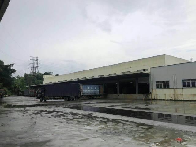 凤岗9米高单一层物流仓库35000平米出租可分租