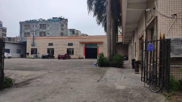 惠州市博罗县龙溪镇新出原房东独院砖墙到顶单一层厂房2000平