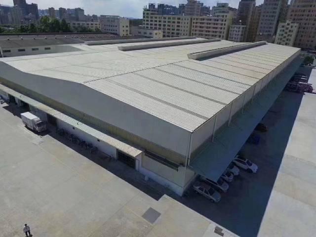 谢岗空出42000平方物流仓库招租:单一层9.5米高物流仓库