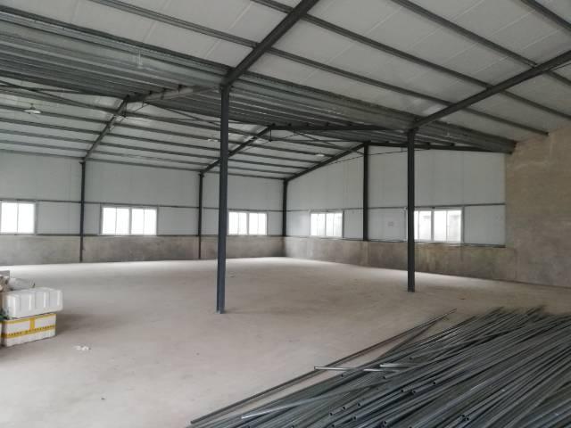 蔡甸1200平钢结构厂房可食品加工轻加工