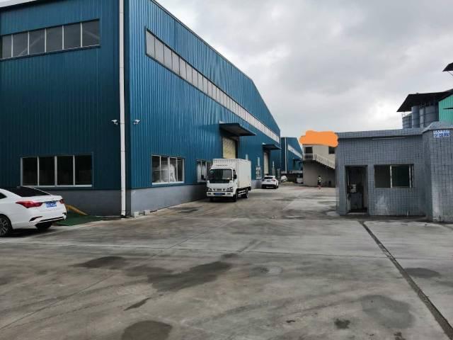 新塘新出原房东单一层钢构厂房4000平米,没有公摊