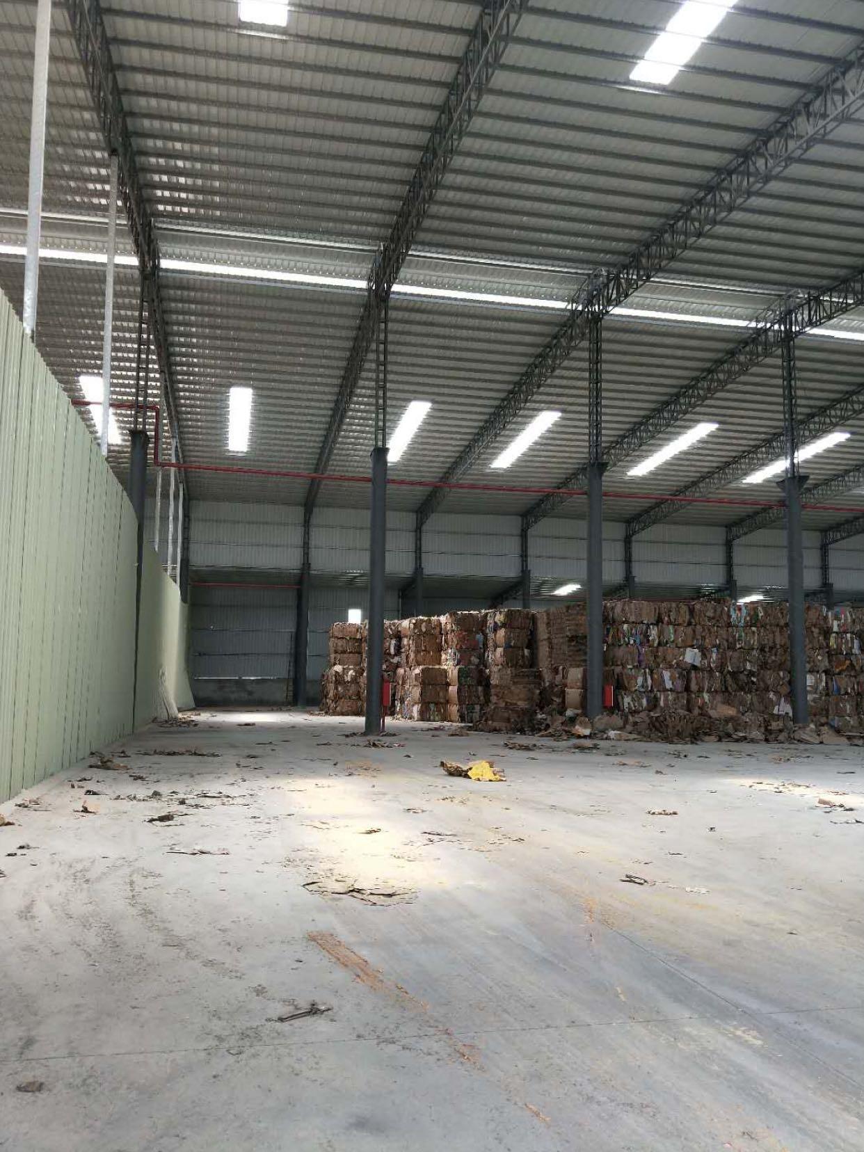 中堂镇刚出单一层钢构厂房1200方