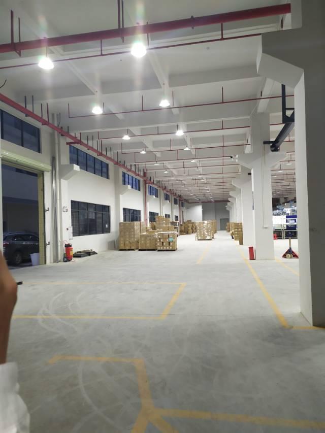惠阳三和标准厂房实际面积出租4200平出租带牛角位6米-图3