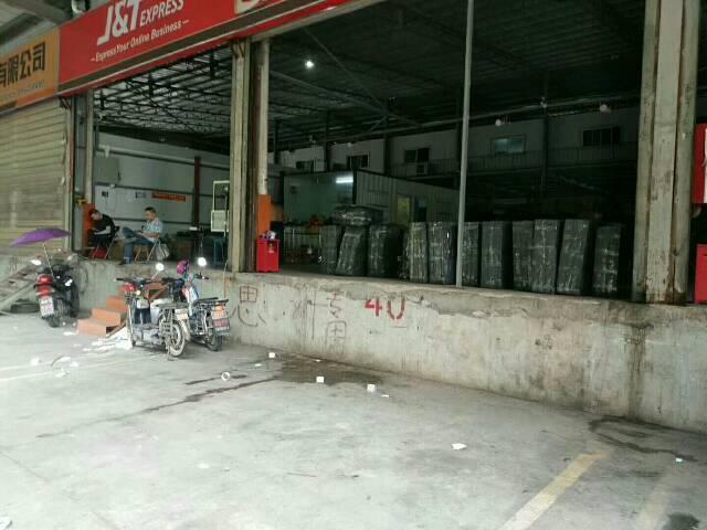福永107国道1000平米的物流仓库,带1.4米高卸货平台,