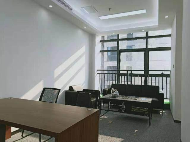 宝安桃源居全新装修办公室3+1格局256平高区三面采光图片2
