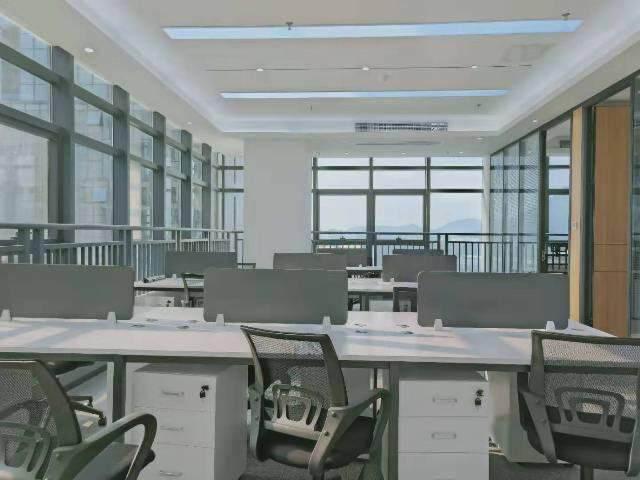 宝安桃源居全新装修办公室3+1格局256平高区三面采光图片9