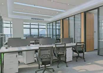 宝安桃源居全新装修办公室3+1格局256平高区三面采光图片3