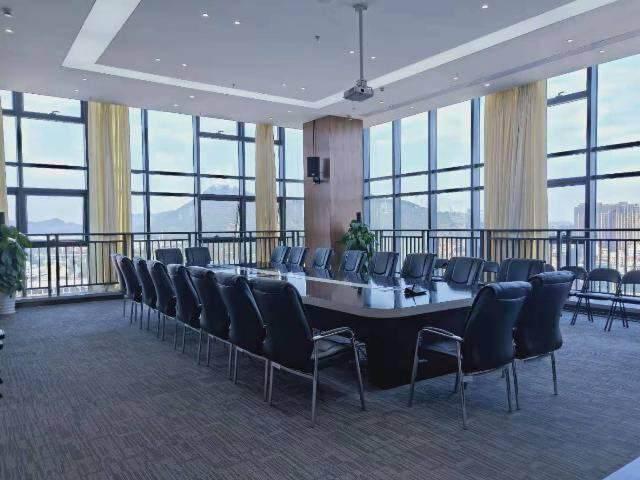 宝安桃源居全新装修办公室3+1格局256平高区三面采光图片6