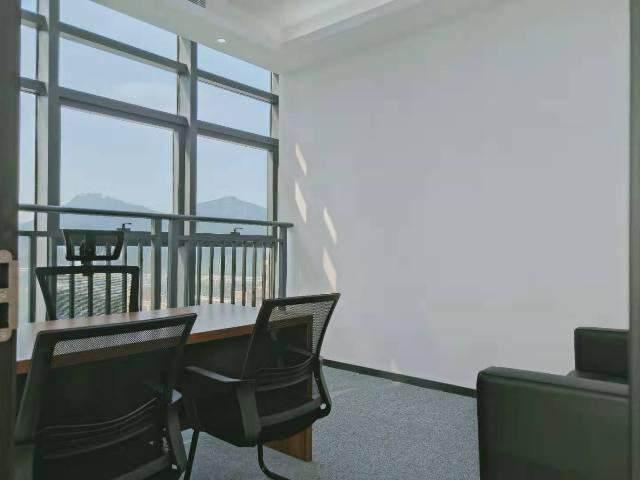 宝安桃源居全新装修办公室3+1格局256平高区三面采光图片8