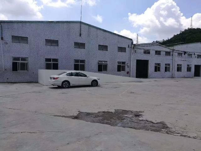 白云湖钢结构单一层仓库出租3000平,可分租,货车可以进去掉