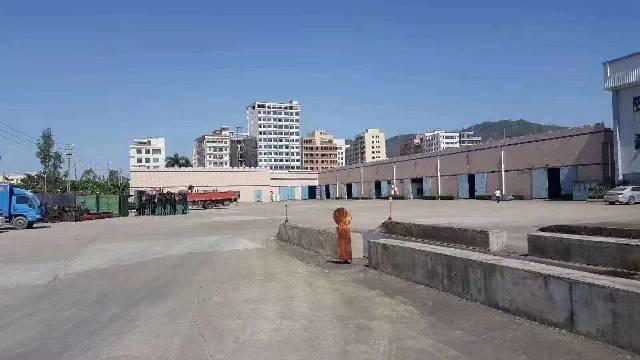 仲恺高新区新出单一层厂房8000平方招租