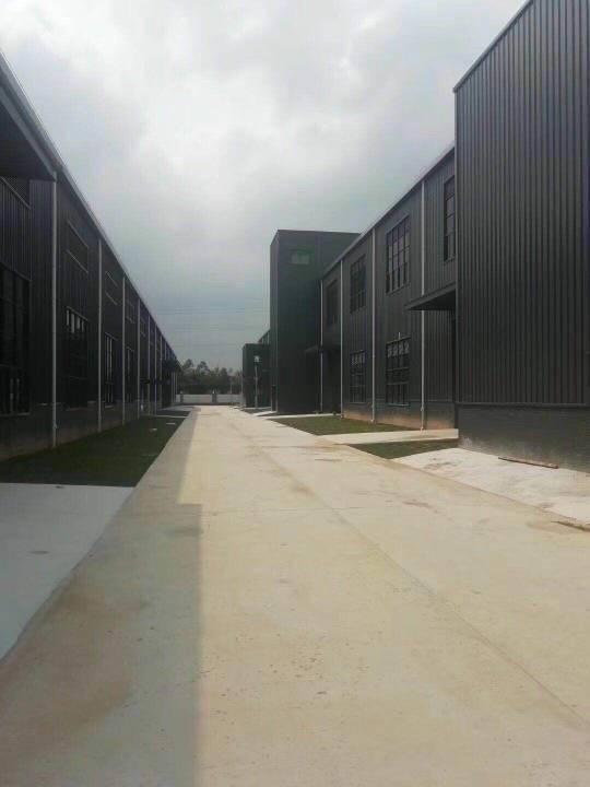 广州天河区工业区两万平全新独院钢构厂房仓库招租可分租