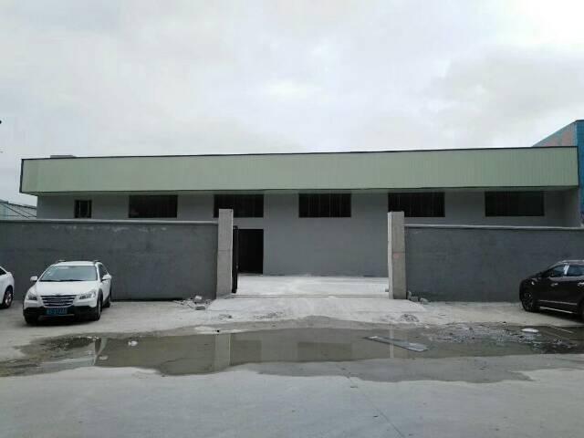 全新钢构原房东厂房出租,形象好空地大