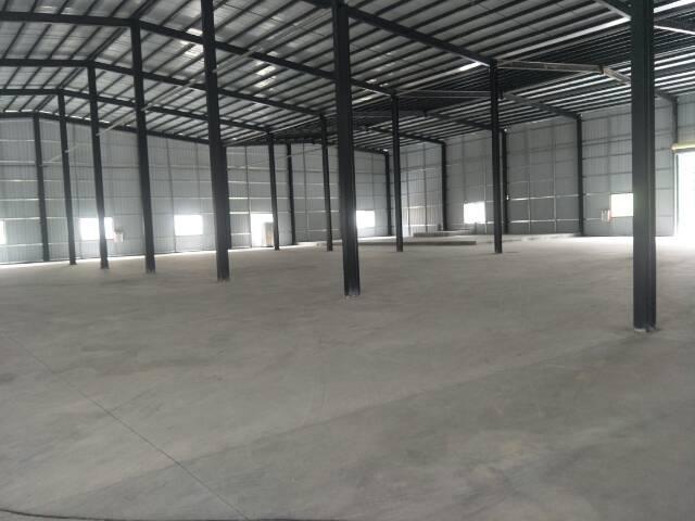 东莞市清溪镇三星新出钢构厂房出租可做仓库