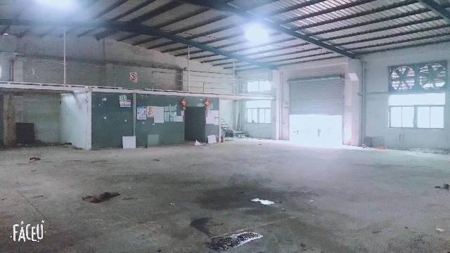 坪地!原房东钢构厂房680平方,6米高,带办公室,水电齐全