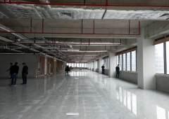 红本写字楼单层5000平方,地铁口零距离,实用率80%,10