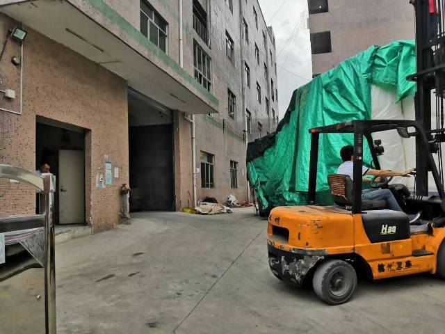 沙头角原房东厂房空出1楼2楼各800平一部三吨电梯珠宝,仓库