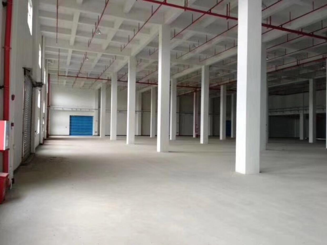 厚街靠近沙田新出保税仓库26000方出租,园区空地超大