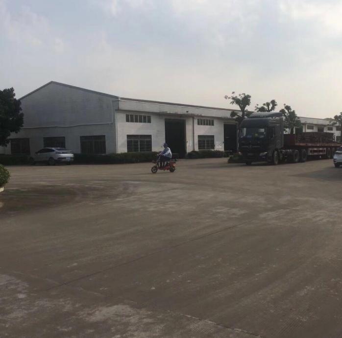 佛山南海物流仓库,位于大路边、独院、空地大、带5吨天车