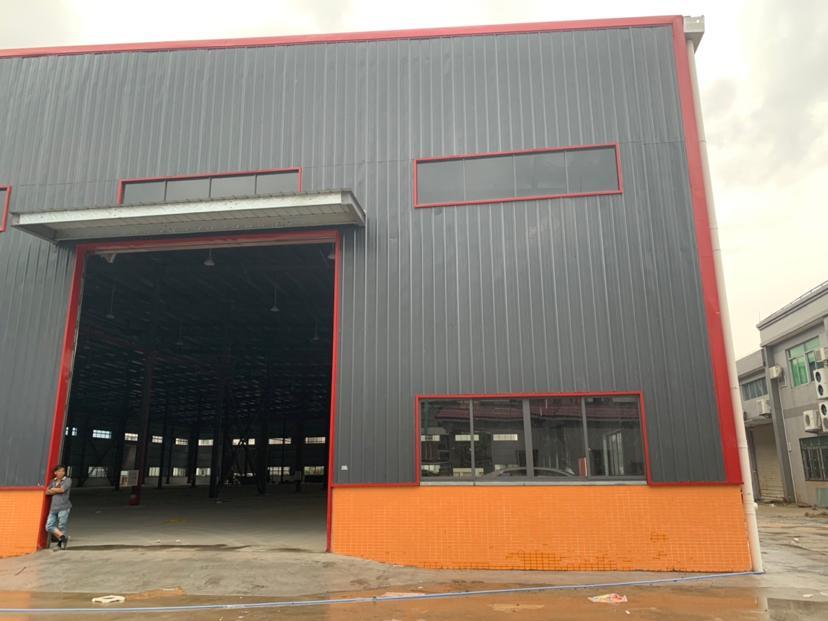 佛山市南海区里水原房东新建两万方单一层钢结构厂房仓库出租