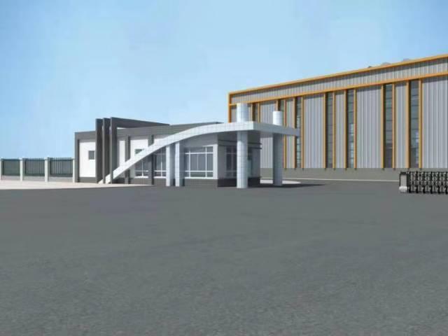成都周边工业园区新建厂房