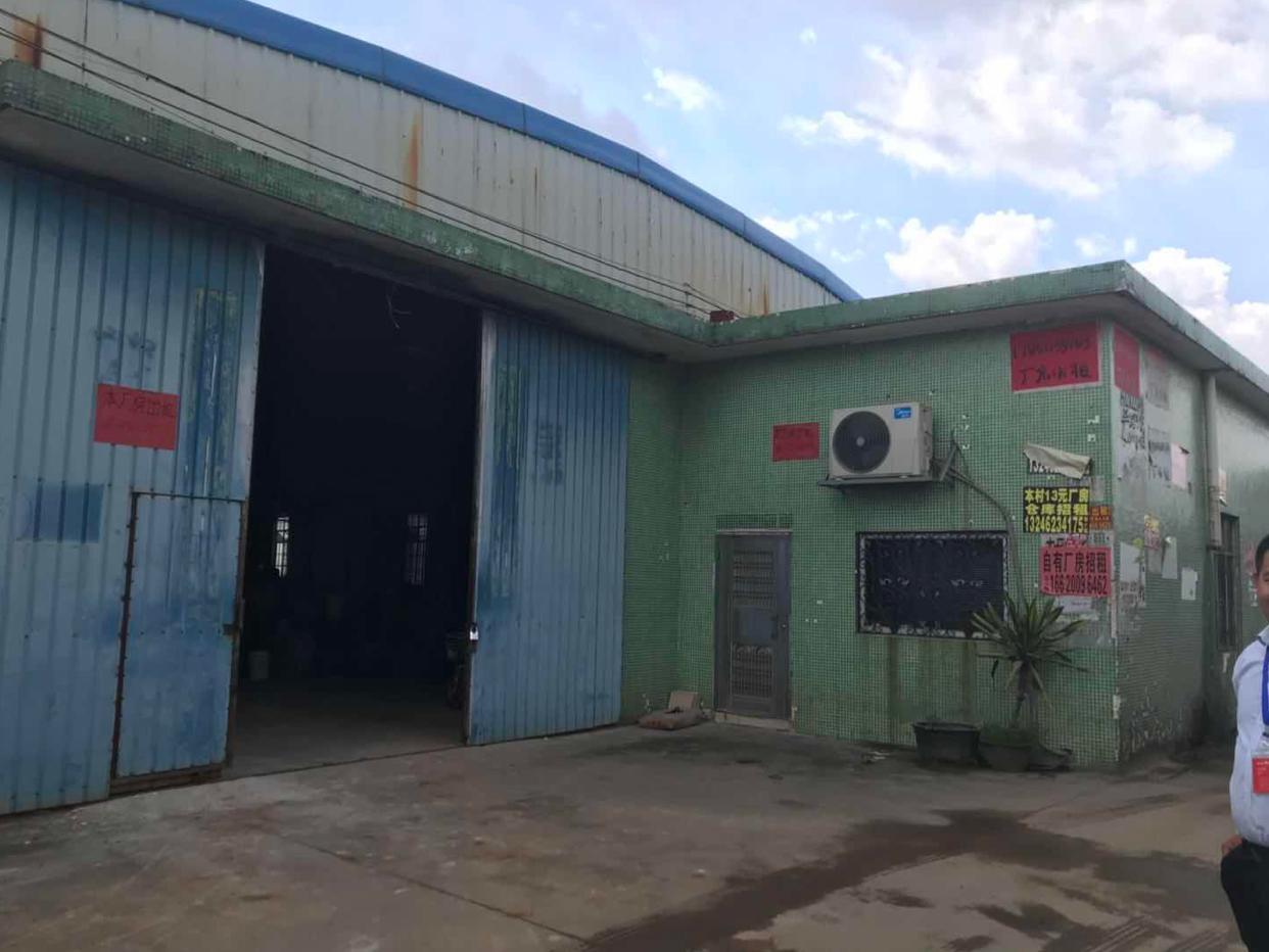 大石新出厂房仓库5000平米高度8米,可办环评可分租