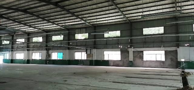 深圳平湖新出9米滴水钢构,砖墙到顶