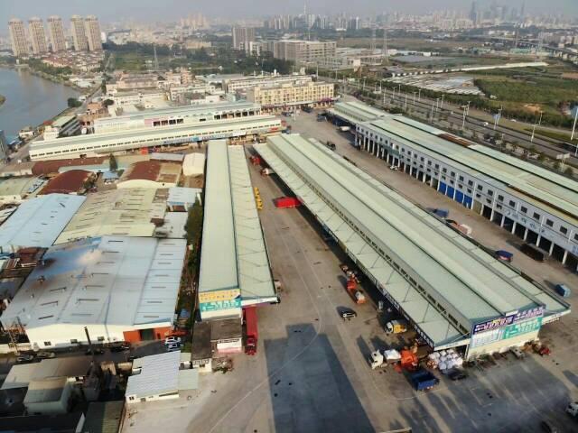 物流园靓盘,高台货仓,目前空置2400平米