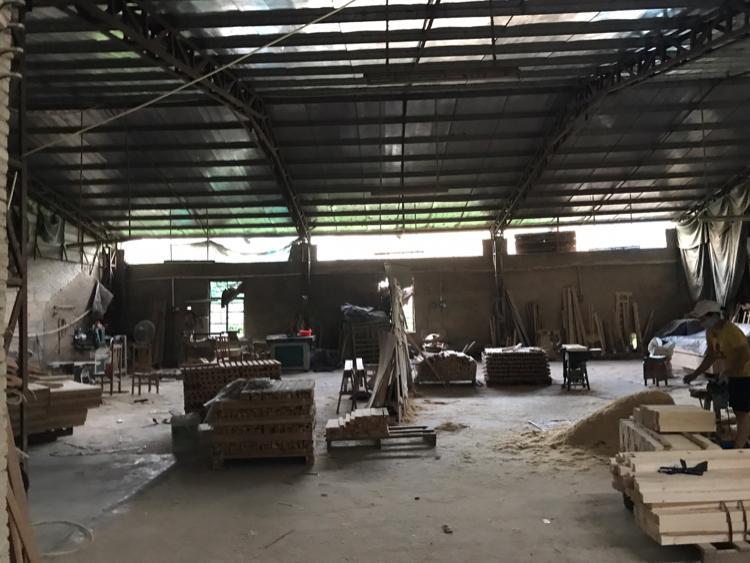 惠城区河南岸街道1500平钢结构厂房出租可做小污染行业
