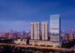 深圳宝安中心区70年产权红本写字楼,可首付五成近地铁口