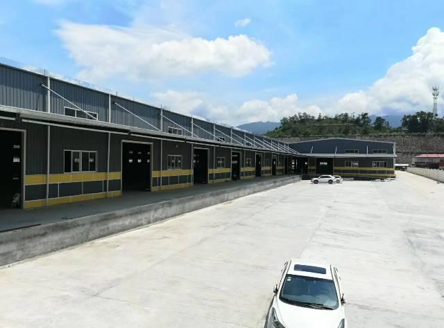 原房东大型工业园物流仓库8600平方出租,带卸货平台