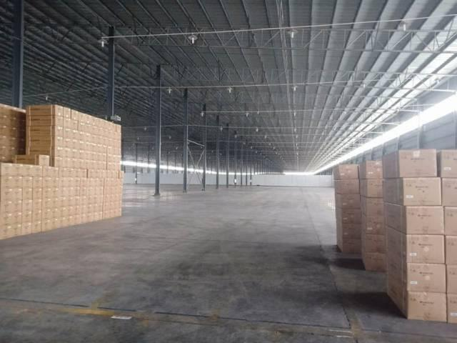 佛山市山水区单一层物流高台仓厂房出租,证件齐全,大小可分租