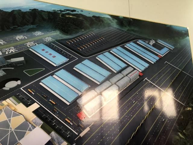 机场旁边20000平米物流仓库出租四周空地卸货平台