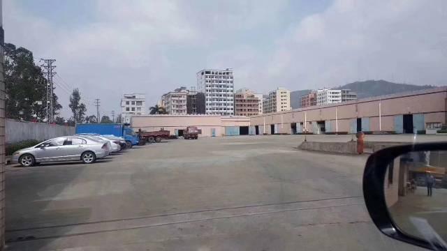 新圩镇长布村8000平米。钢构厂房现成行车招租