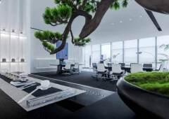 龙华龙胜地铁站80米甲级写字楼1280平出租