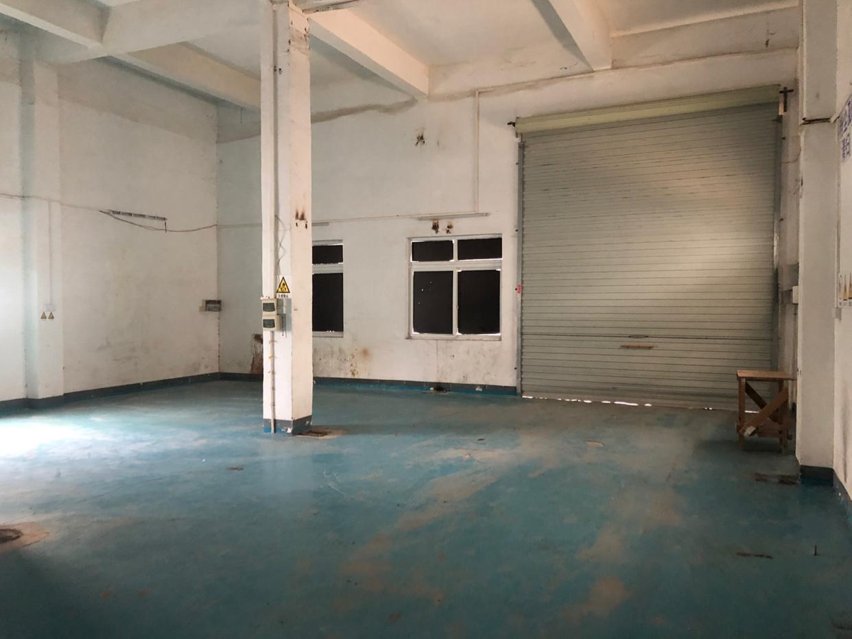 葵涌工业园内独栋仓库一楼6米高280平方出租可生产