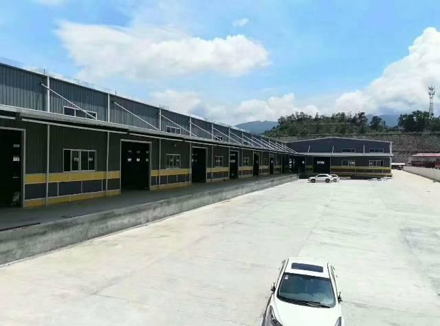 深圳宝安福永机场旁标准物流仓20万平方,可分租,带有卸货