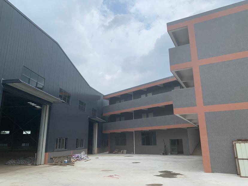 佛山市南海区里水一万方新建单一层高十米独院钢结构厂房仓库出租
